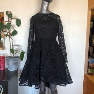 **SALE** ABS | Allen Schwartz black lace dress